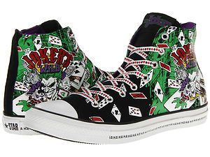 Converse All Star DC Comics The Joker's Wild Trainers Shoes