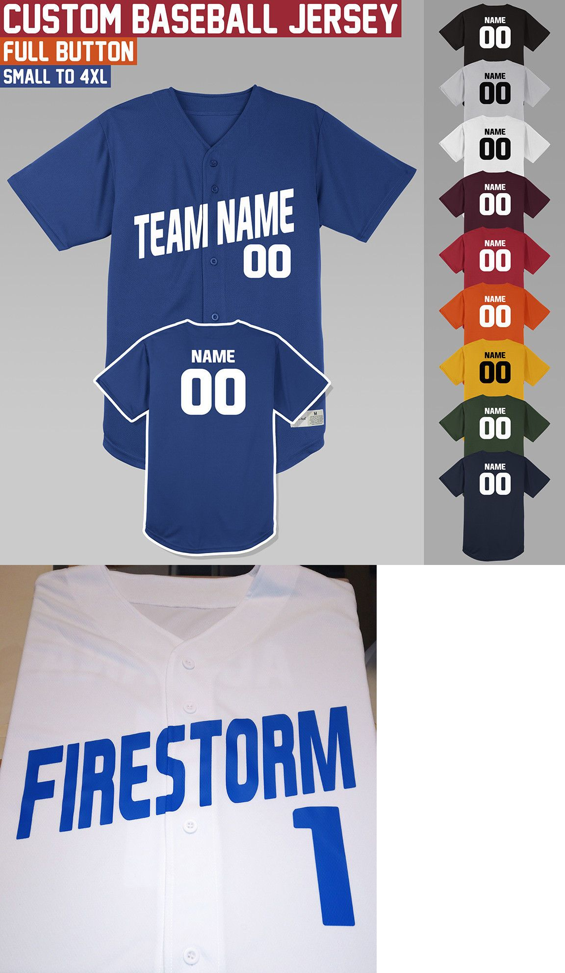 Baseball Shirts And Jerseys 181336 Custom Baseball Jersey Full