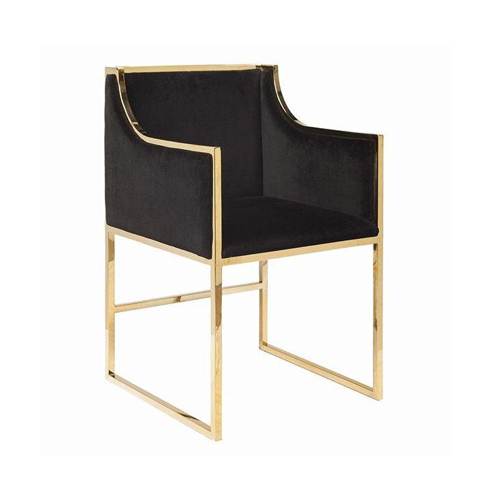 Posh Black Chair Blackchair Black Chair Furniture