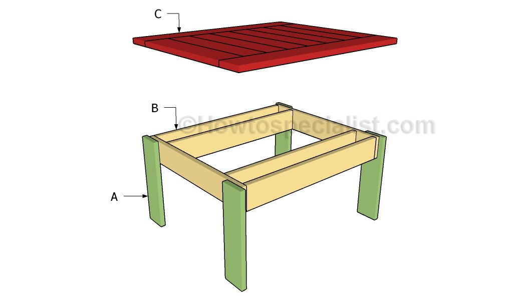Small Outdoor Table Plans Howtospecialist How To Build Step By Step Diy Plans Outdoor Table Plans Small Outdoor Table Outdoor Tables