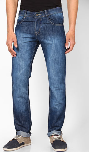 9852ae1e78ff Buy Phosphorus Blue Slim Fit Jeans @ Rs.799 only. | Apparels ...