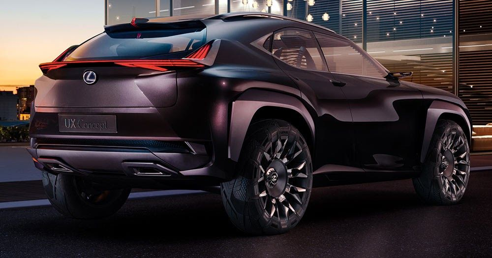 New Lexus UX Crossover Concept Officially Announced For Paris #Concepts #Lexus