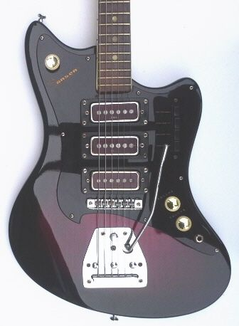Jansen Guitar From New Zealand Stratocaster Guitar Guitar Vintage Guitars