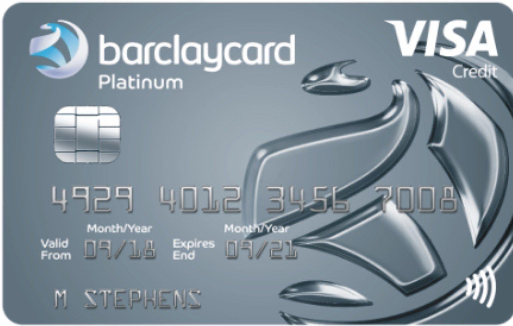 Barclaycard platinum credit card interest rates