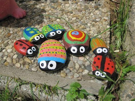 Bildergebnis für steine bemalen mit kindern #steinebemalenkinder