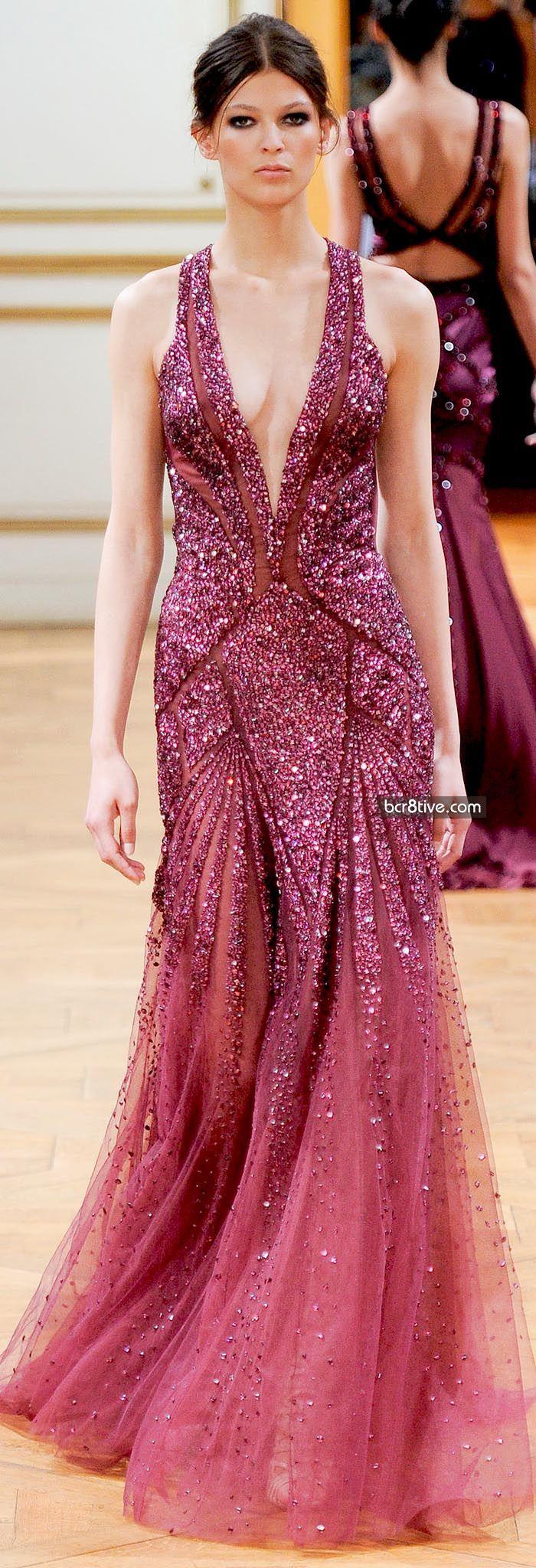 Hermosa Vestido De Zuhair Murad Baile De Graduación Modelo ...