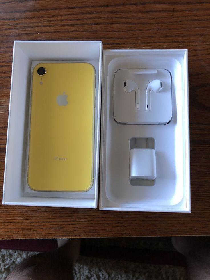 Apple iphone xr 64gb yellow unlocked a1984 cdma gsm