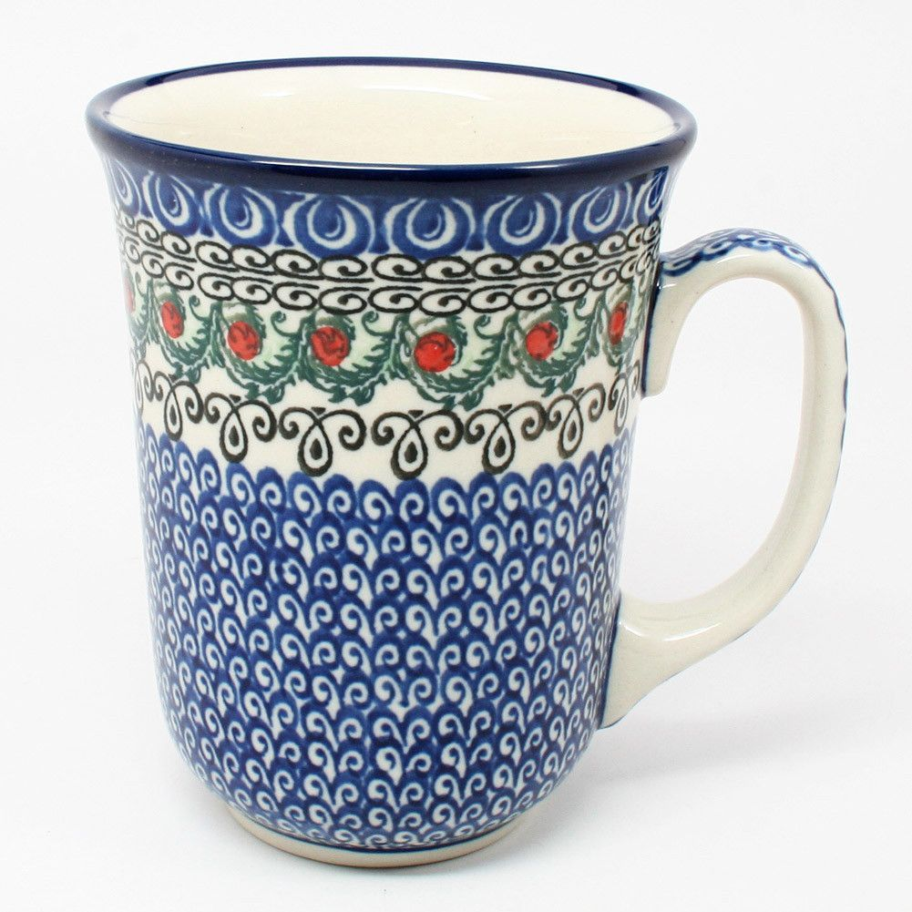 Good Tall Bistro Mugs #1642   Polish Kitchen Online