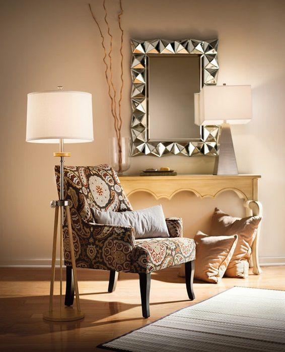 Kichler Lighting Trivet Collection One Light Floor Lamp Contemporary Floor Lamps Outdoor Light Fixtures Decor Essentials