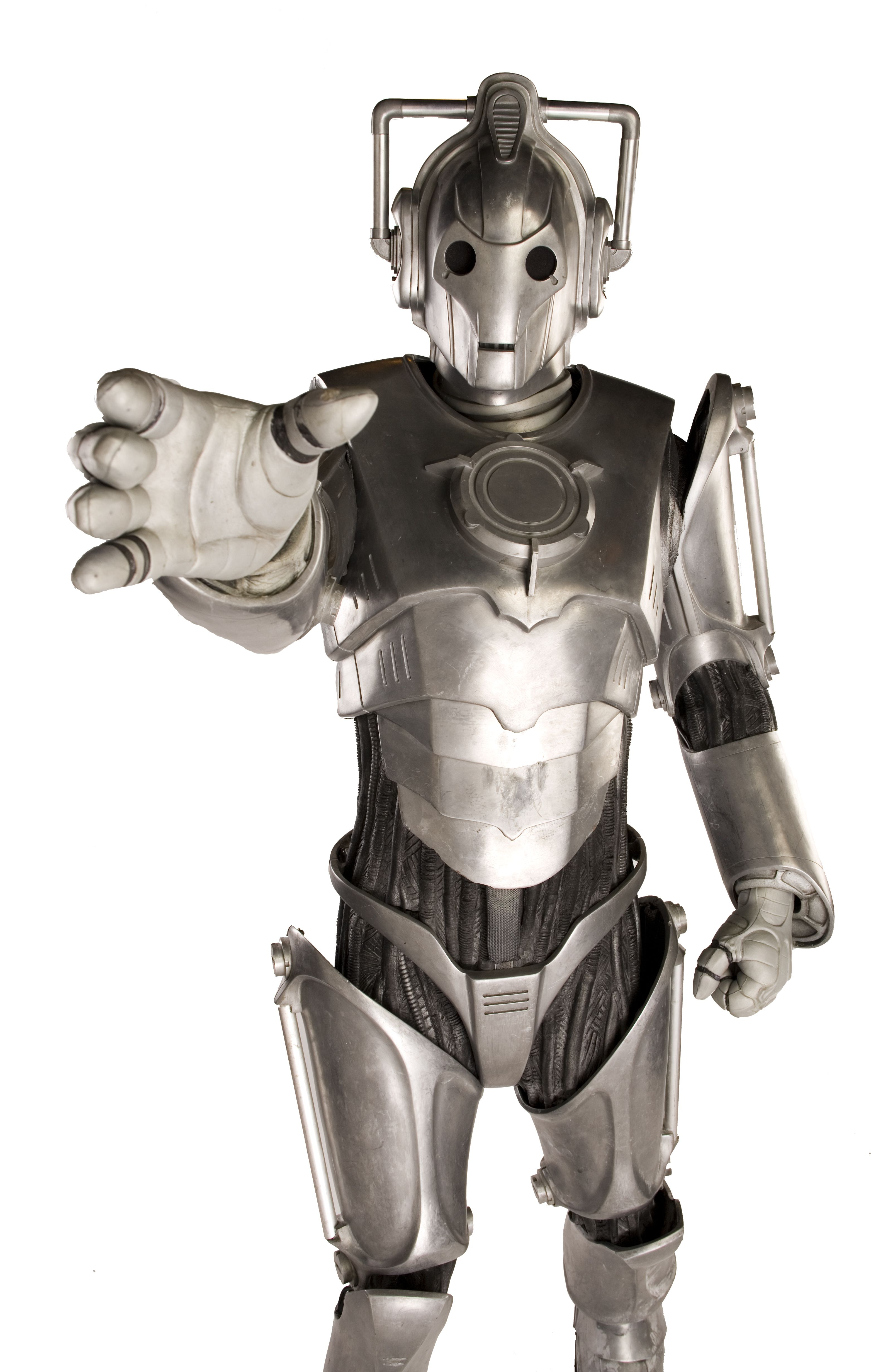 Cyberman in foam with patterns doctor who cosplay kost me selber machen doctor who - Tardis selber bauen ...