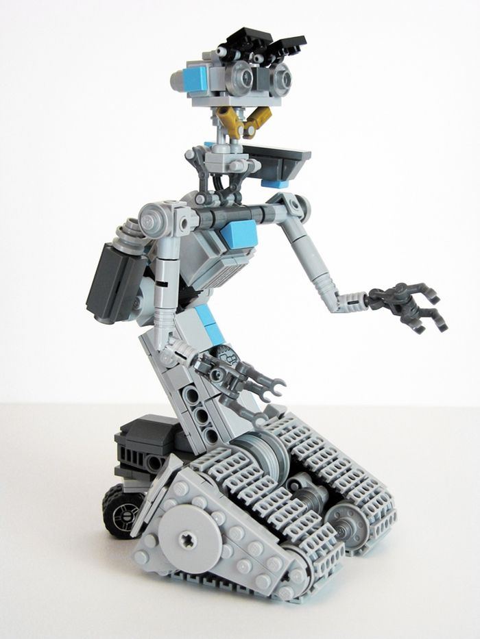 Johnny 5 Instructions By Matt De Lanoy Love The Legos Pinterest