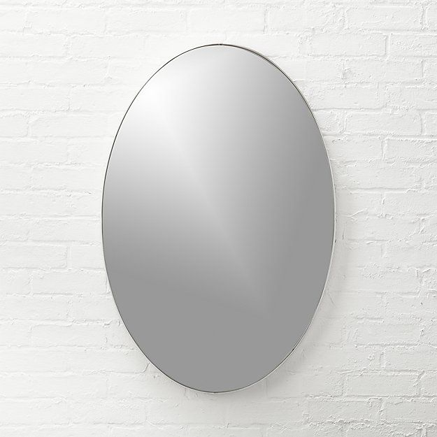 This Is A Classic Simple Mirror That Would Work For Any Bath