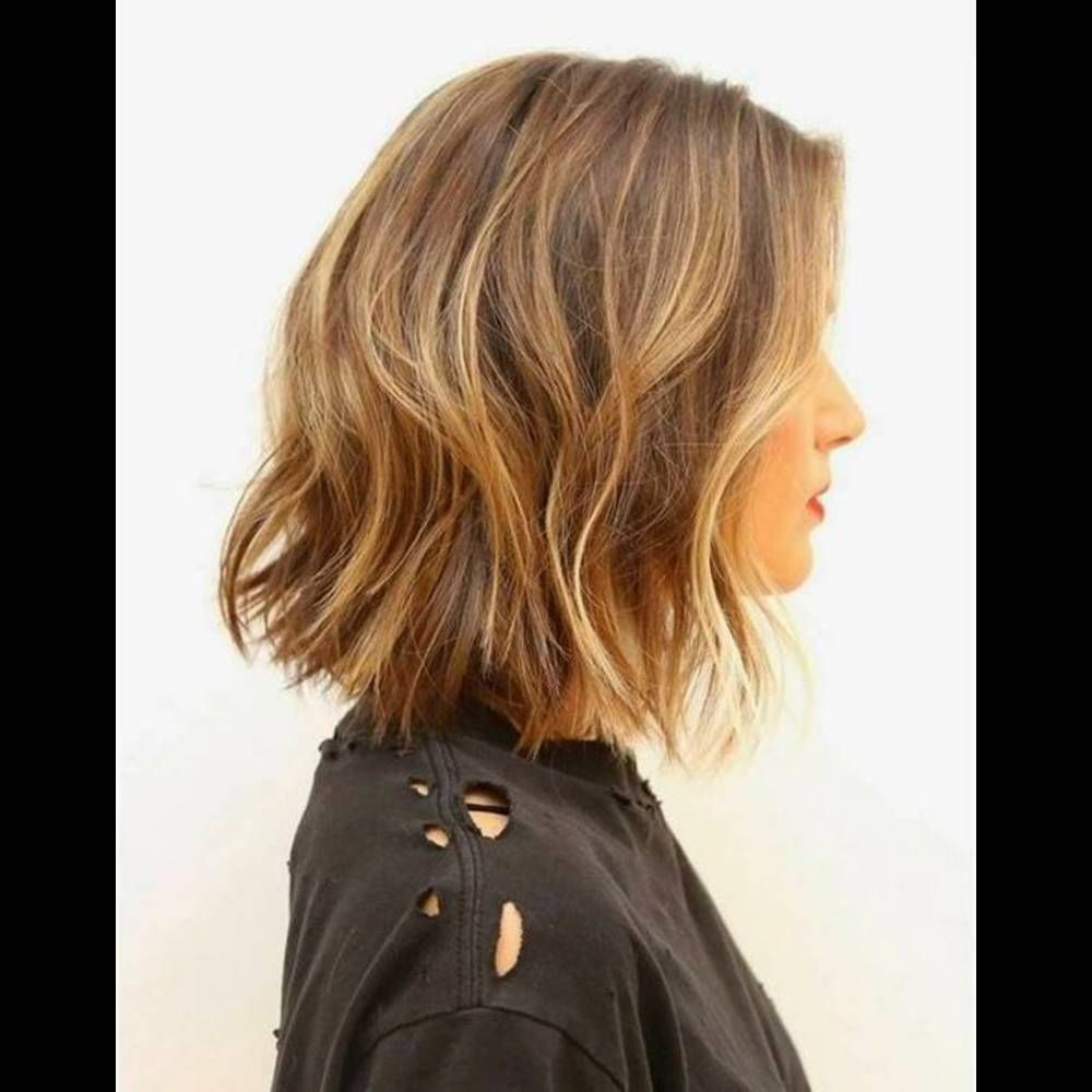 Coupe cheveux carr d grad mi long fashion designs - Coupe carre mi long degrade ...