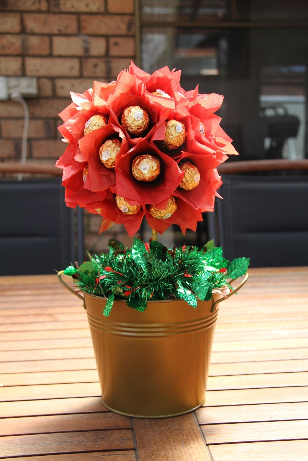 Chocolate flower pot candy bar bouquets pinterest chocolate candy bouquet chocolate flower pot izmirmasajfo Choice Image
