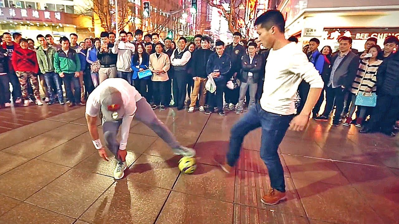 Séan Garnier Crazy Street Football Skills, Panna's