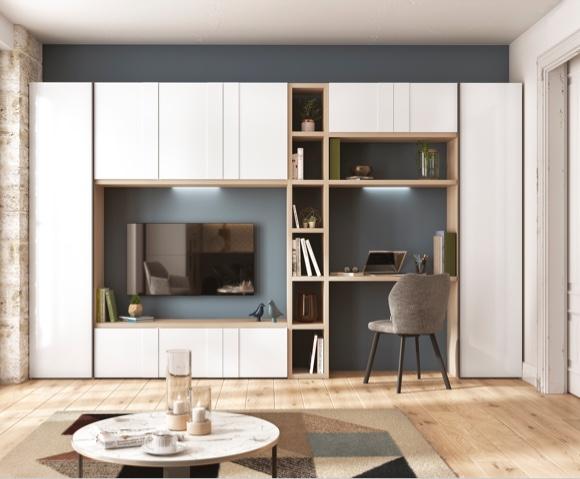 Imagine Piece De Vie En 2020 Meuble Rangement Meuble Tele Design Meuble Rangement Salon