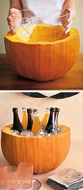 So doing this! For a punch bowl!