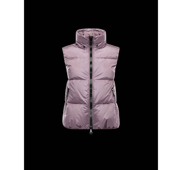 moncler jacke neu moncler cer damen down vest mauve sale. Black Bedroom Furniture Sets. Home Design Ideas