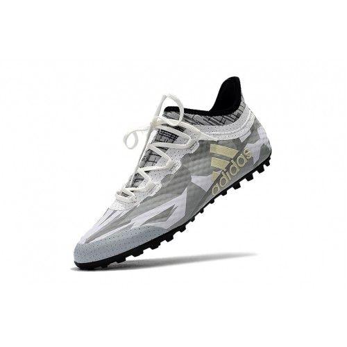 Adidas X Chuteira Adidas X Tango 16.1 TF Branco Cinzento