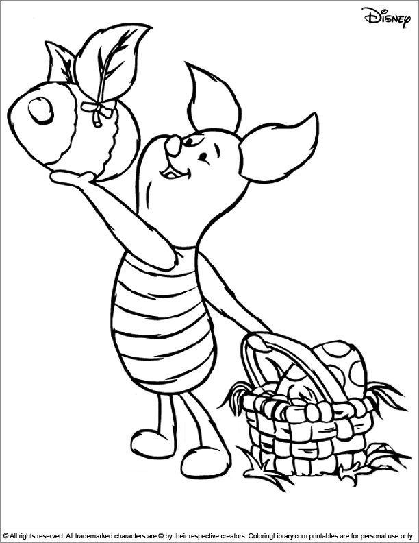 Easter Disney Coloring Sheet To Print Disney Coloring Sheets Easter Coloring Sheets Disney Coloring Pages