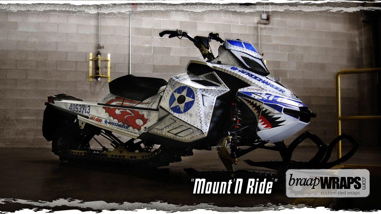 Calvin Felker's Turbo'd XP with Mount'N Ride wrap by Braap Wraps