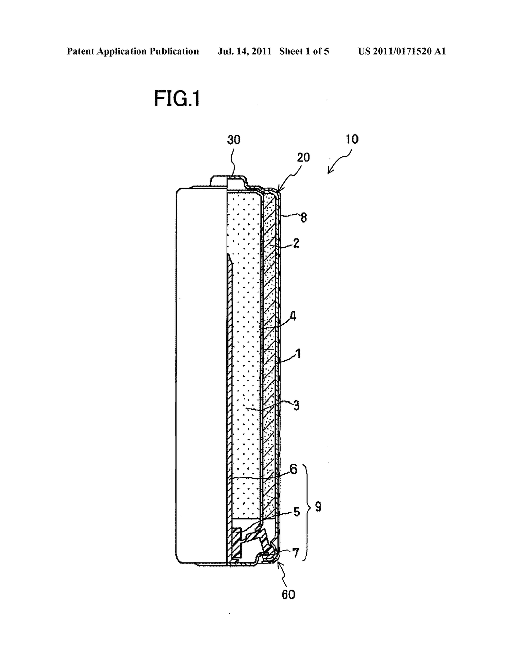 AA battery | Patents | Diagram, Utility pole