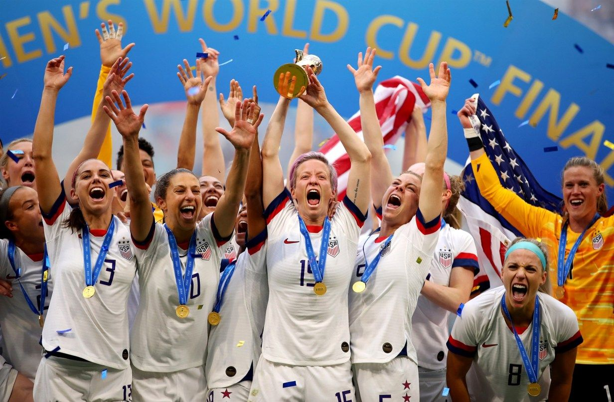 Is Us Women S Soccer One Of The Best Sports Teams Ever Fifa Women S World Cup World Cup Champions Women S Soccer Team