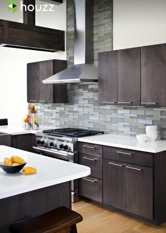 Houzz app   Modern kitchen backsplash, Modern kitchen ...