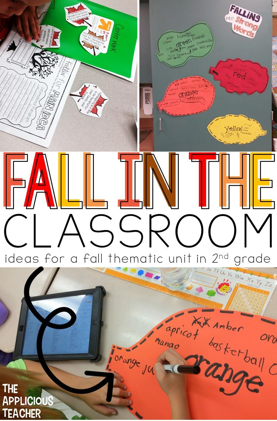 Fall Thematic Unit Main Idea Text Features Author S Purpose Fall Classroom Activities Thematic Units Fall Lesson Plans [ 1444 x 950 Pixel ]