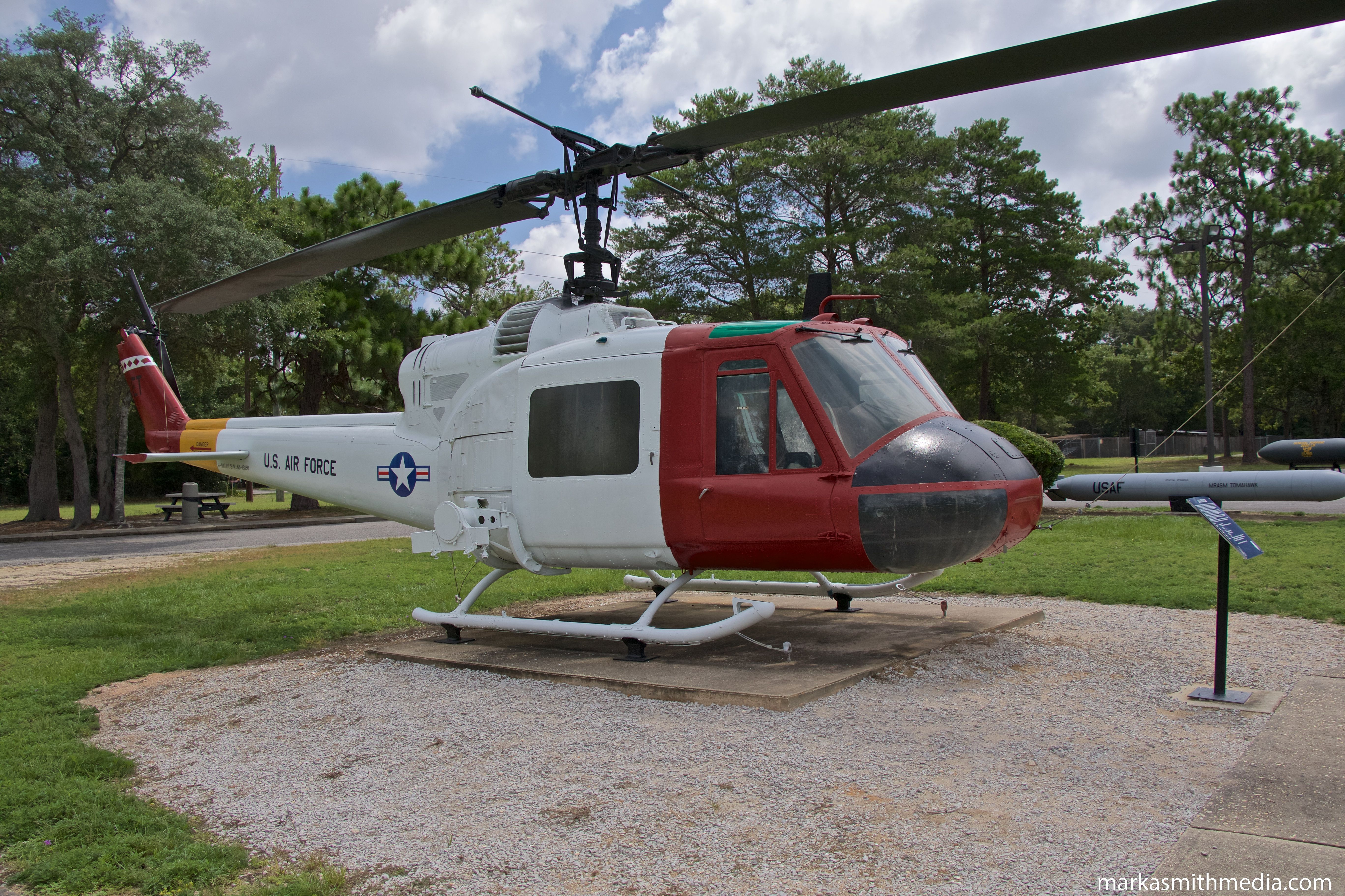 Bell UH1M at Air Force Armament Museum, Eglin AFB, 2017