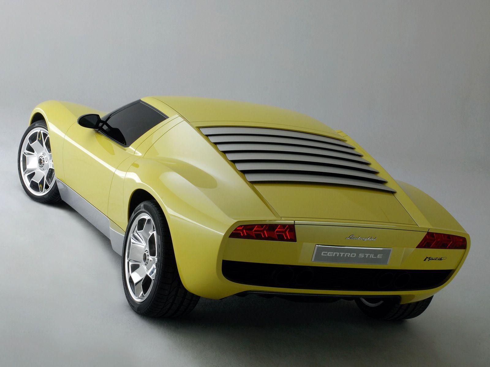 Lamborghini Miura Concept Revin Lamborghini Cars Lamborghini