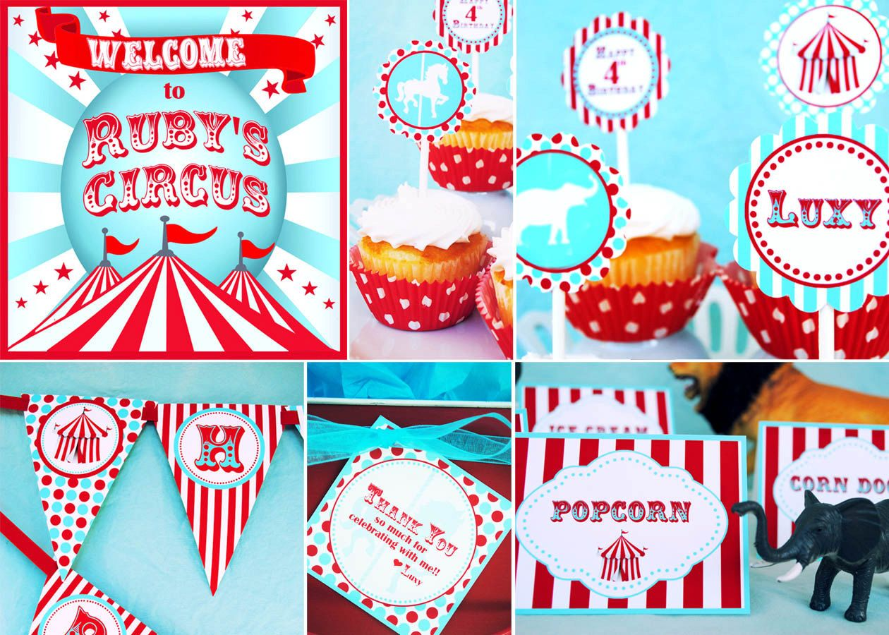 Circus Party Decorations Carnival Decorations HUGE PARTY ...