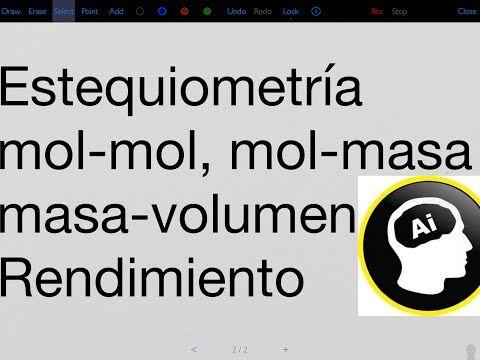 Estequiometría, masa-masa, mol-masa, masa-volumen, reactivo - best of tabla periodica de los elementos electronegatividad
