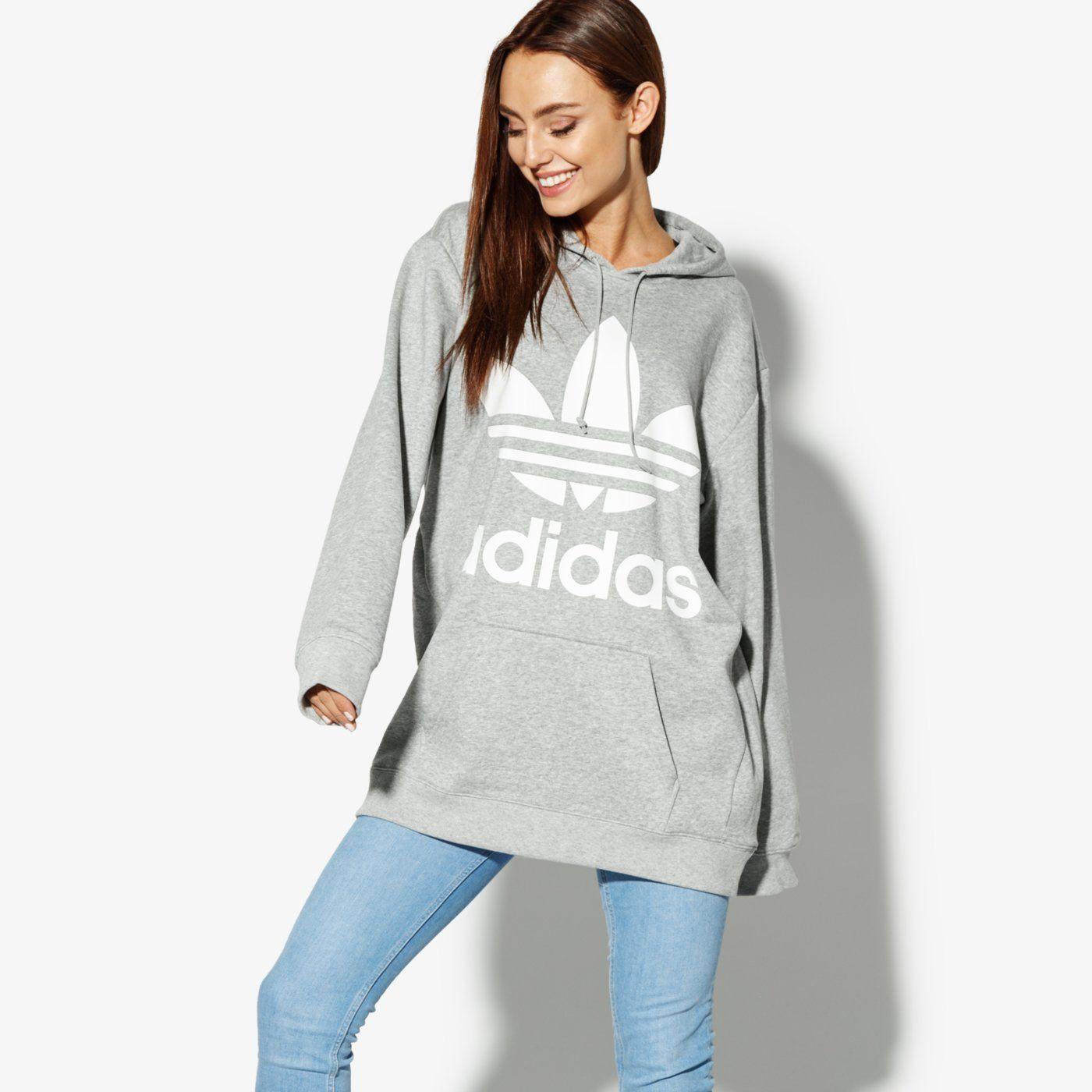 ADIDAS BLUZA SWEATER BS4276   kolor BIAŁY   Damskie Bluzy   Odzież w ✪ Sklep Sizeer ✪
