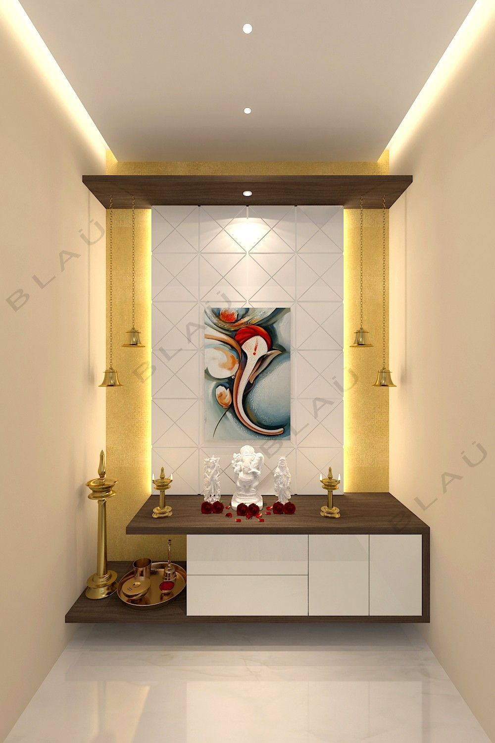 Puja Zimmer Puja Zimmer In 2020 Pooja Room Door Design Room
