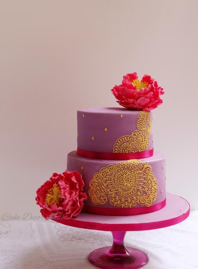Pin By Cakesdecor Com On Wedding Cakes Cake Henna Cake Mehndi Cake