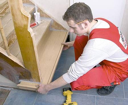 Alte Stufen Renovieren Laminat Auf Treppen Verlegen Hausbau
