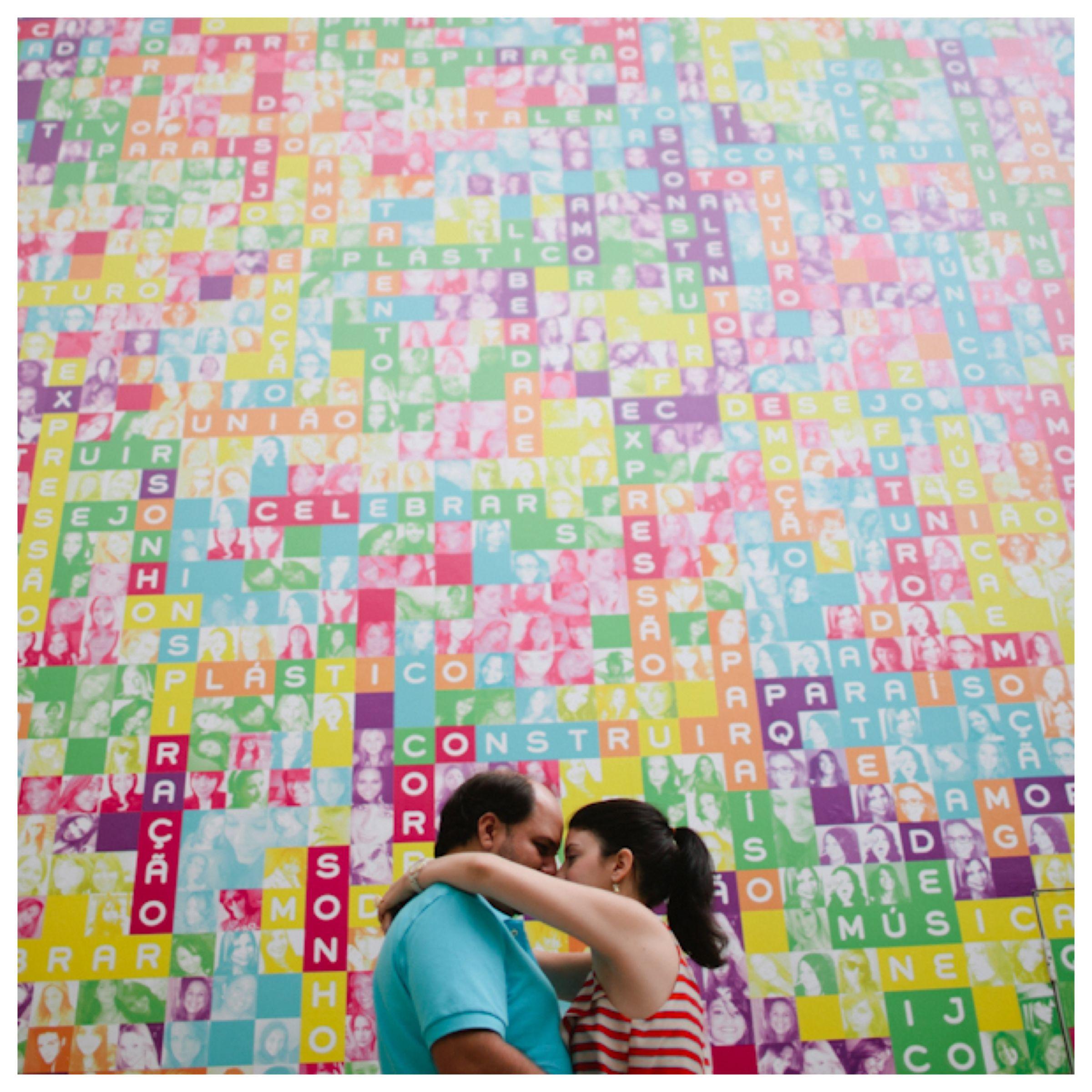 As cores de um amor.  #colherdechanoivas