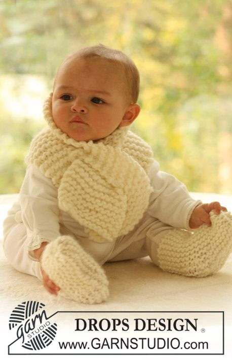 Baby Scarf And Socks 1 Months To 4 Years Drops Eskimo Free