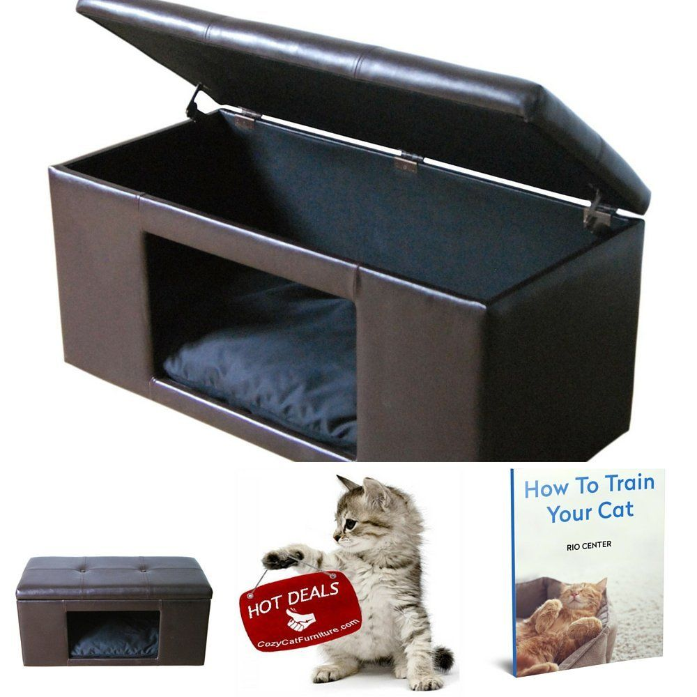 Extra Large Cat Beds End Of Bed Storage Bench Puppy Beds Kitty Bed Furniture Cat House And Ebook How To Train Your Cat Stop Everything And кошачьи дома дом