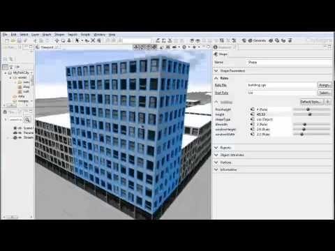 1 CityEngine Tutorial: Essential Skills --- In this video