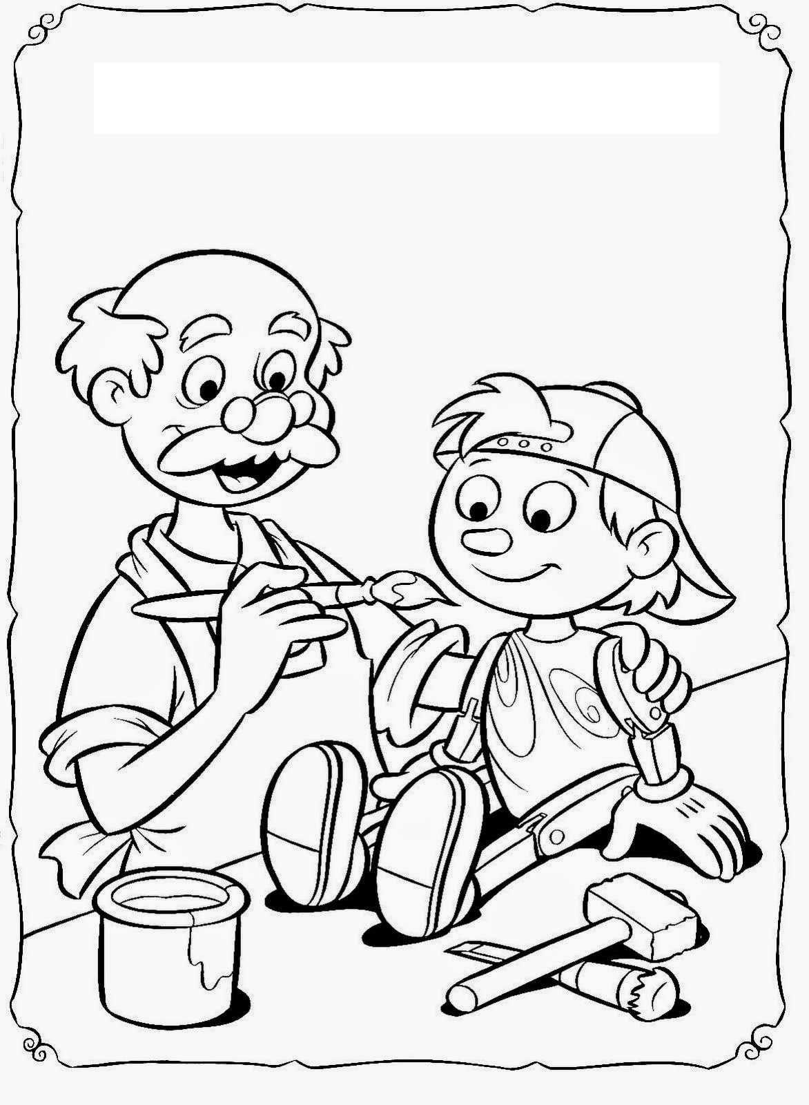 Pinokyo Hikaye Karti Yapimi Pinocchio Okul Okul Oncesi