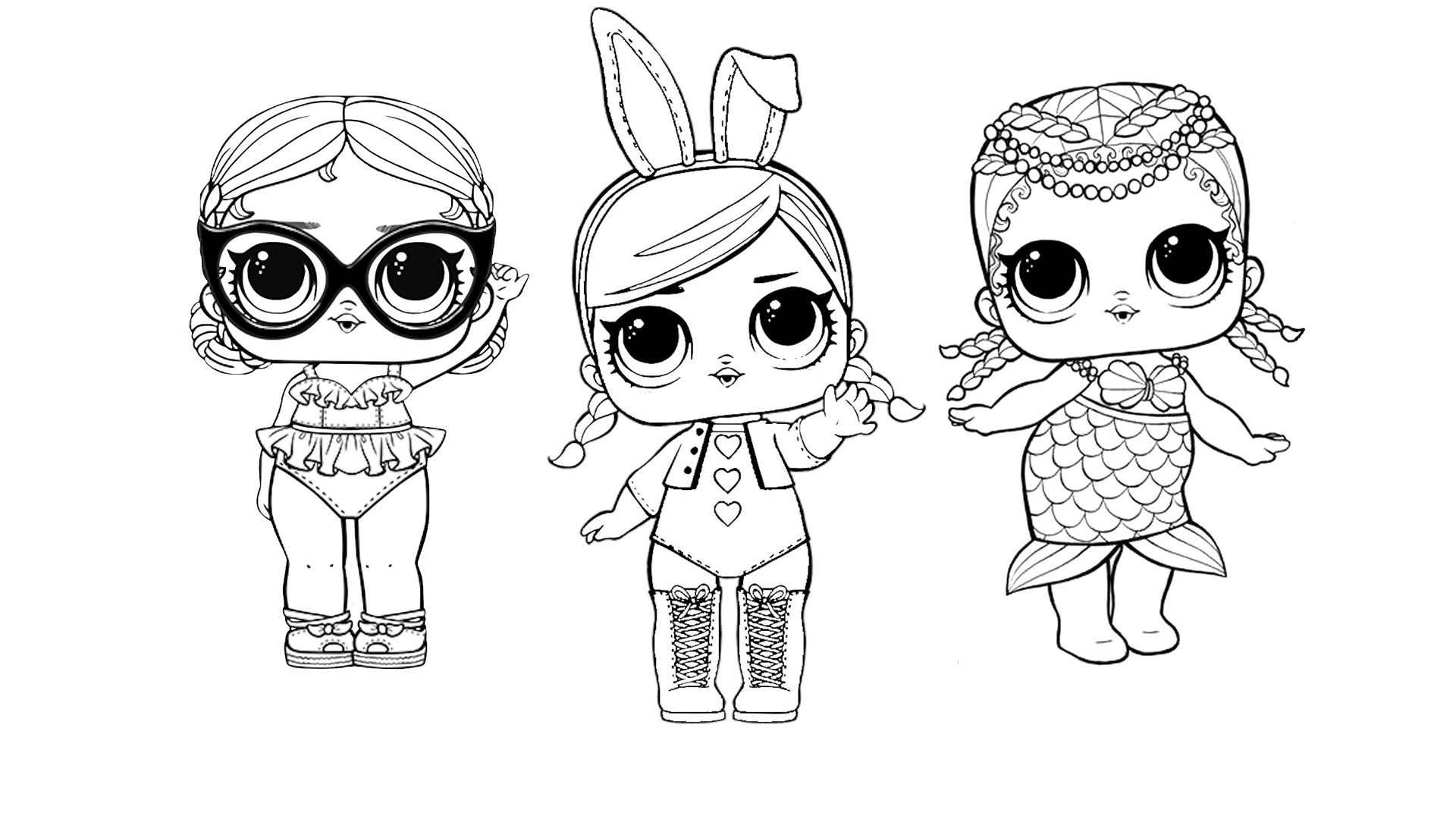Hi It S Lol Surprise Dolls Coloring Book Compilation I Will Colour Lol Surprise Dolls Vacay Baby Hops And Merbaby Coloring Books Lol Dolls Coloring Pages