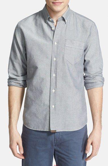 Men's Billy Reid Standard Fit Oxford Shirt