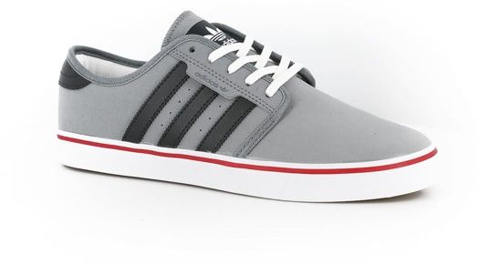 Adidas Seeley Skate Shoes - grey/carbon/power red - Free Shipping