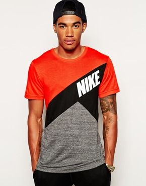 bb33b1ec8 Image 1 of Nike Colourblock T-Shirt