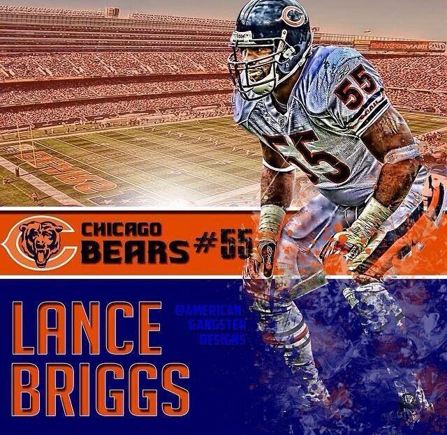 #55 LANCE BRIGGS