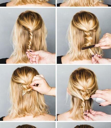 11 Einfache Schritt Fur Schritt Hochsteckfrisur Tutorials Fur Anfanger Long Hair Styles Hair Styles Medium Hair Styles