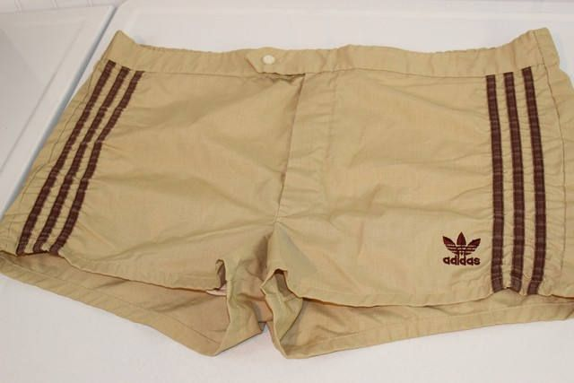 0645ba33f1bb0 Vintage Adidas Men's Swim Suit Swim Trunks Khaki Tan SZ L | ETSY ...