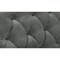 Photo of finya sofa velvet Silva – gray – 162 cm – 87 cm – 104 cm – upholstered furniture> sofas> 2-seater